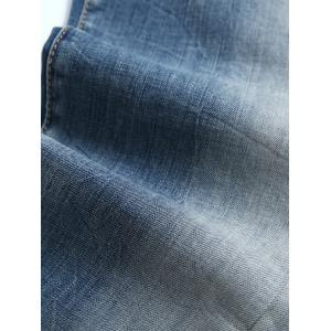 Light Wash Ombre Distressed Jeans - Bleu clair 32