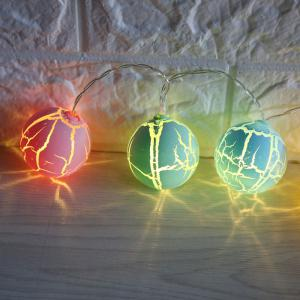 Crack Ball Shape LED String Lights -