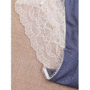 See Through Lace Panties - Blanc Cassé L