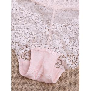 Scalloped Lace Panties -
