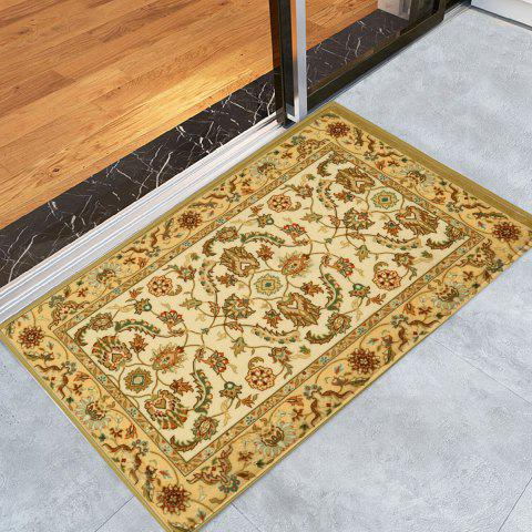 Fashion Antiskid Persian Totem Printed Home Decor Rug - W16 INCH * L24 INCH EARTHY Mobile