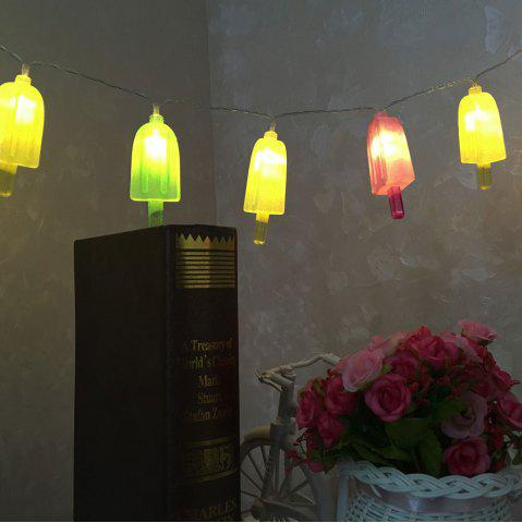 Latest 10 LED Ice-lolly Shape String Lights - COLORFUL  Mobile