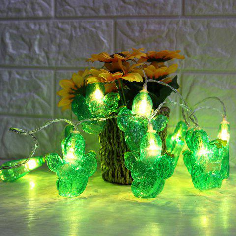 Best Battery Operated LED Cactus Shaped String Lights