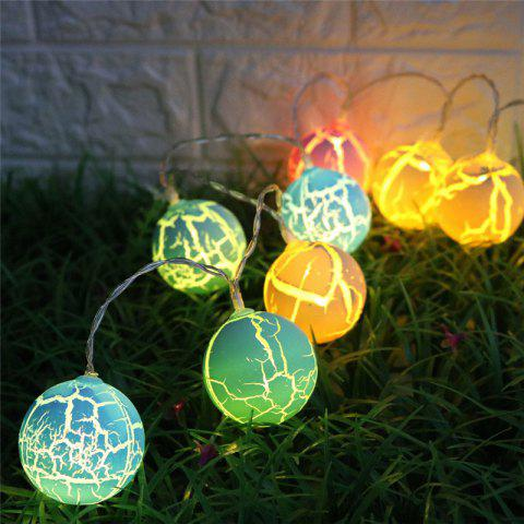 Cheap Crack Ball Shape LED String Lights