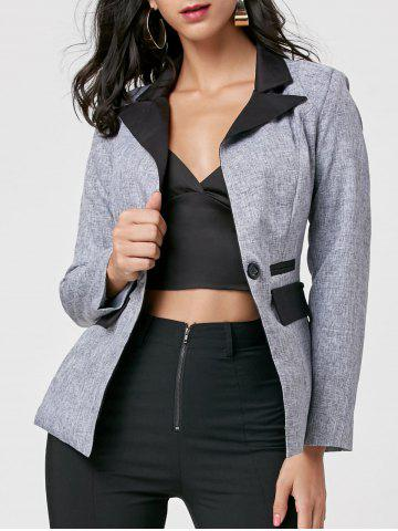 Outfit One Button Blazer