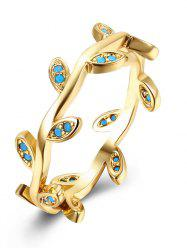 Leaves Circle Bohemian Finger Ring - GOLDEN 8