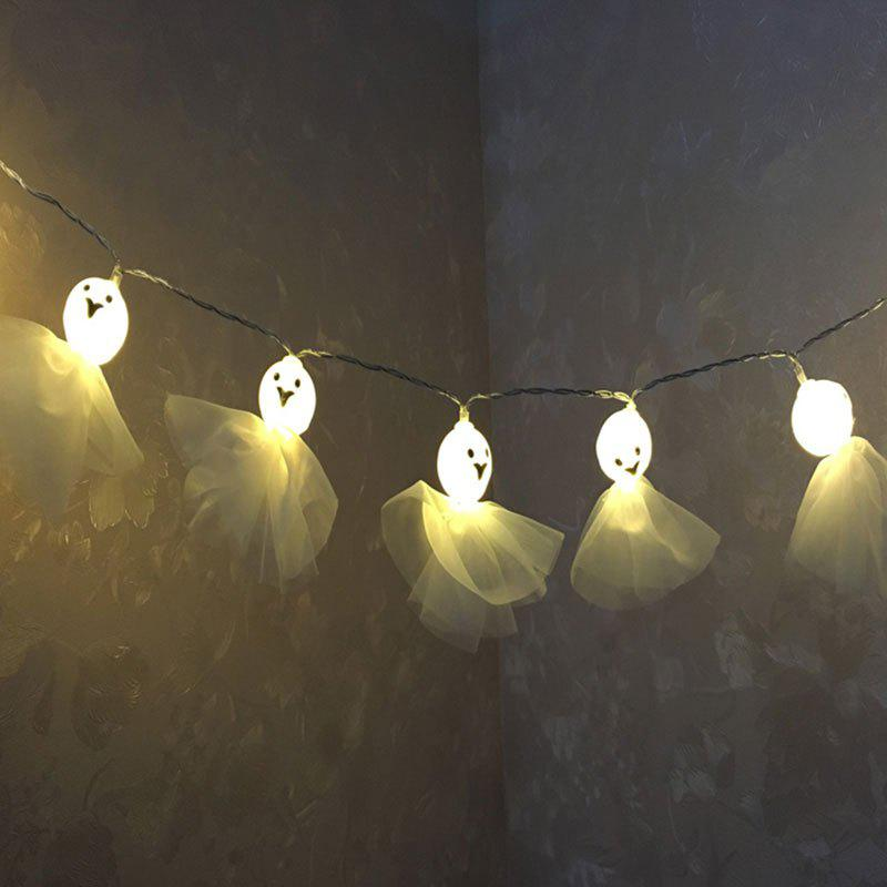 Affordable Halloween Party Decor Cartoon Ghost Shape String Lights
