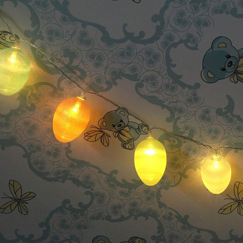 Shops LED Colorful Egg Shape String Lights