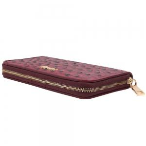 Zipper Around PU Leather Wallet -