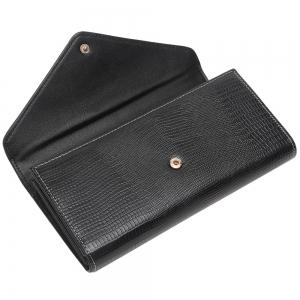 Enveloppe Zipper Letter Flapped Wallet -