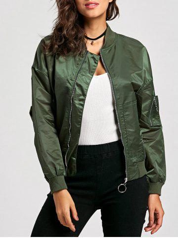 Hot Zip Up Bomber Jacket