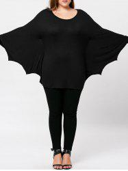 Plus Size Batwing Top -