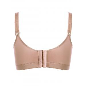 Plunged Wireless Padded Bra - COMPLEXION 90C