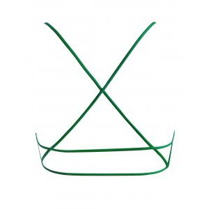 Soutien-gorge Strappy Cross Back - Vert TAILLE MOYENNE