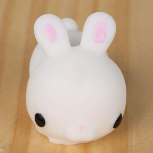 3Pcs Bunny Shaped Anti Stress Squeeze Squishy Toys - WHITE