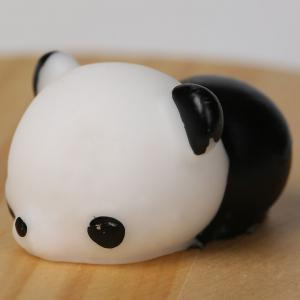 3Pcs Panda Squeeze Stress Relief Squishy Toys - BLACK WHITE