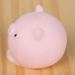 3Pcs Piggy Shaped Squeeze Stress Relief Squishy Toys - LIGHT PINK