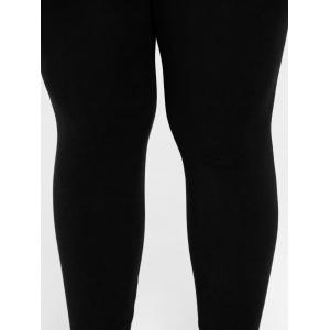 Plus Size High Waist Skinny Leggings -