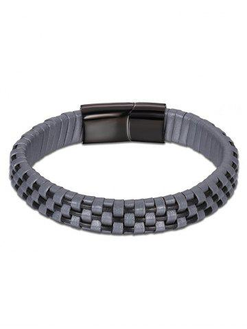 Bracelet Faux Leather Cool