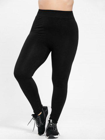 Unique Plus Size High Waist Skinny Leggings