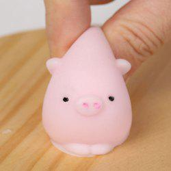3Pcs Piggy Shaped Squeeze Stress Relief Squishy Toys - Rose Clair