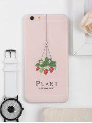 Strawberry Pattern Protective Phone Case For Iphone -