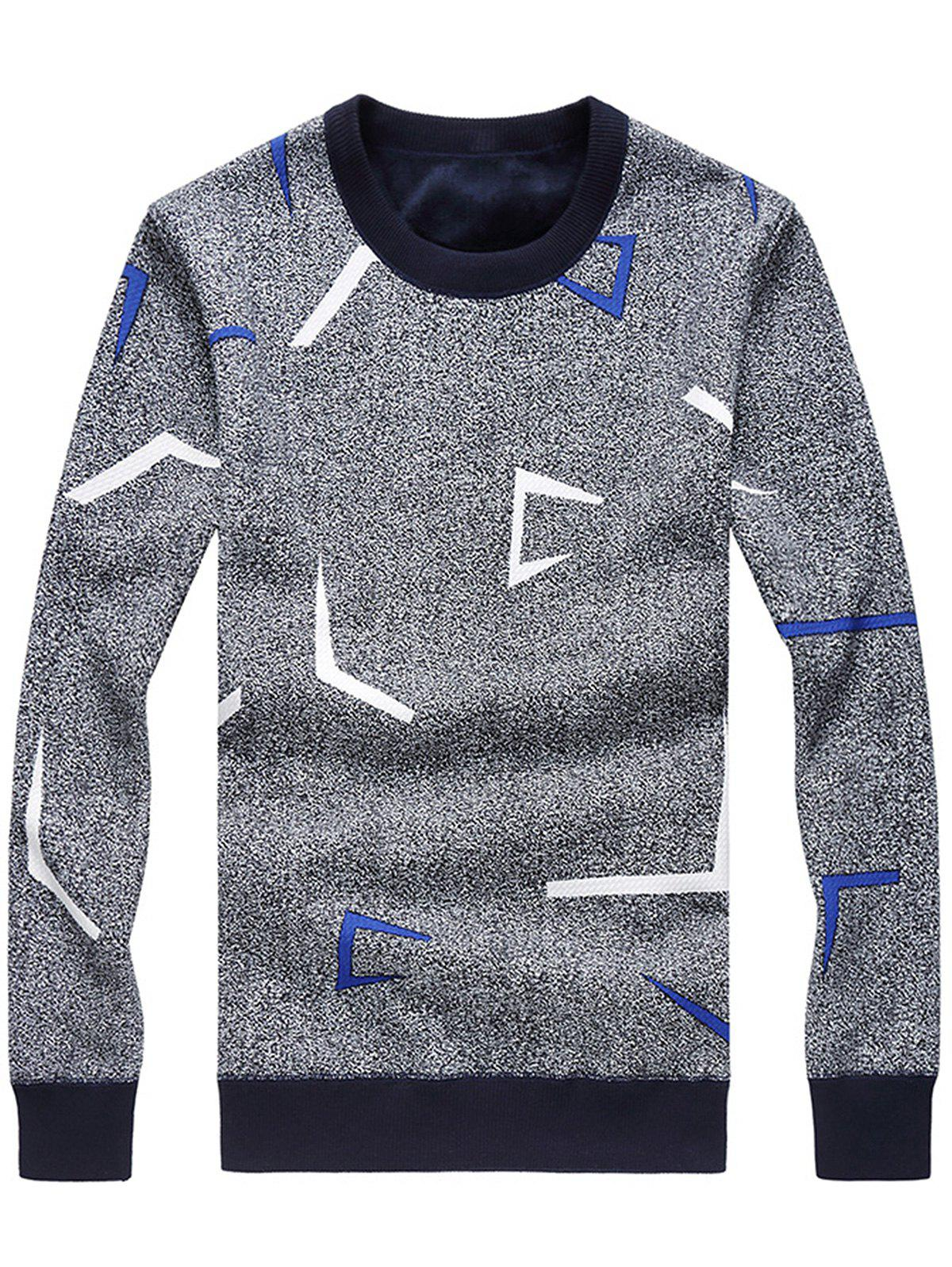 Sweat en jersey tricot couleur