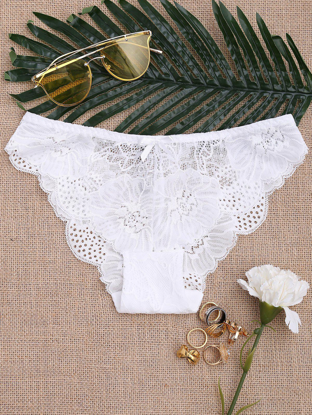 Shops Sheer Lace Panties