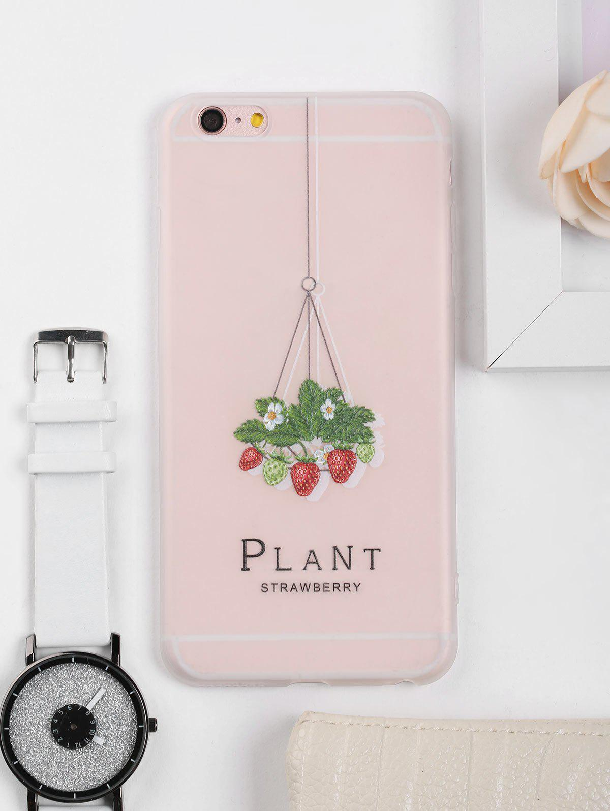 Outfits Strawberry Pattern Protective Phone Case For Iphone