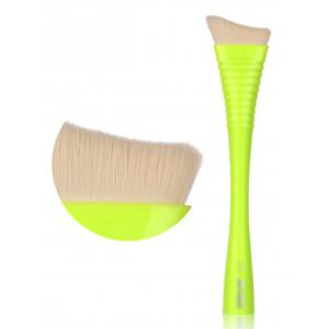 1PCS Makeup Irregular Blush Brush - Jaune+ Vert