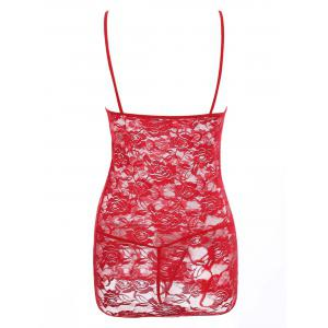 See Through Lace Plus Size Babydoll -