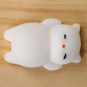 3Pcs en forme de chat Anti Stress Squeeze Squishy Toys -