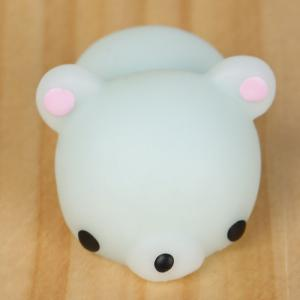 3Pcs Little Bear Shape Stress Relief Squeeze Squishy Toys -