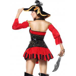 Costume flottant de cosplay pirate -