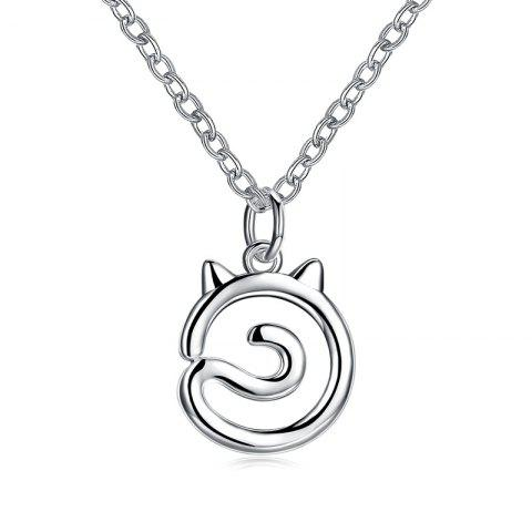 Chic Simple Cat Alloy Necklace