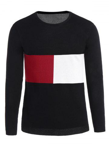Pull Homme Color Block