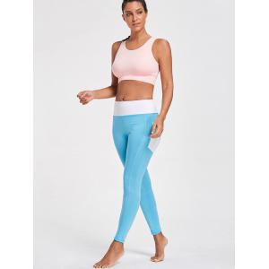 Leggings Active Heart Pattern avec poches - Pers S