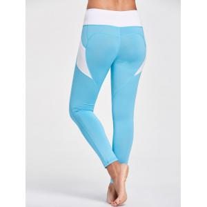 Active Heart Pattern Leggings with Pockets -