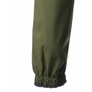 Cover Placket Zip Up Lightweight Coat - ARMY GREEN M