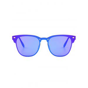Mirror Metallic Wayfarer Sunglasses - LARKSPUR