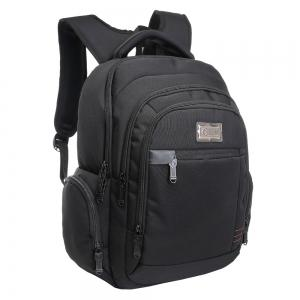 Multi Zippers Top Handle Laptop Backpack -