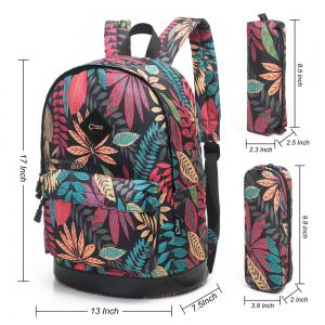 Pencil Bags and Padded Strap Backpack -