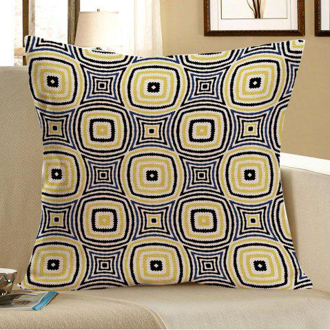 Affordable Geometric Pattern Linen Throw Pillow Case