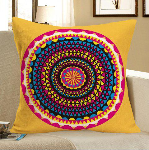Latest Bohemia Printed Linen Pillow Case - W18 INCH * L18 INCH COLORFUL Mobile