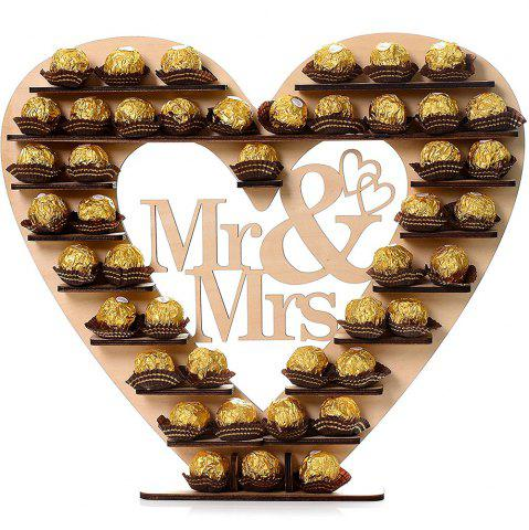 Outfit DIY Wedding Wooden Chocolate Display Stand COMPLEXION