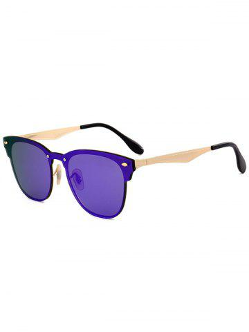 Outfit Mirror Metallic Wayfarer Sunglasses LARKSPUR
