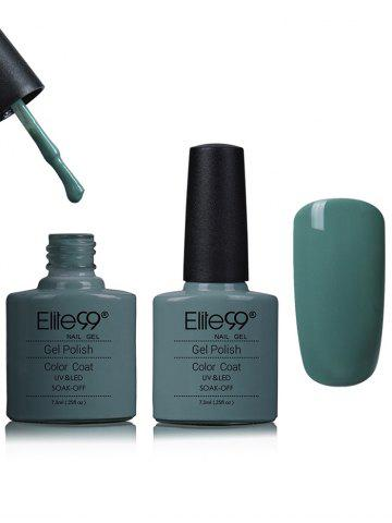 Online Elite99 Soak Off Blues and Greens Shellac Gel Nail Polish - #13  Mobile