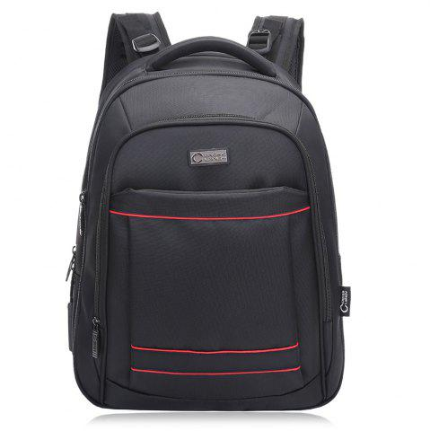 Chic Mesh Panel Multifunctional Laptop Backpack