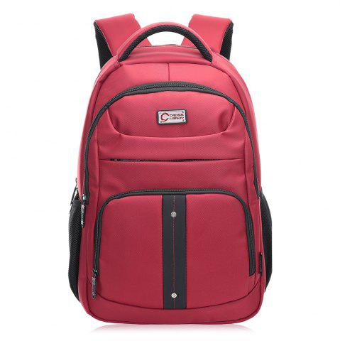 Best Multifunctional Top Handle Laptop Backpack - VERTICAL RED Mobile