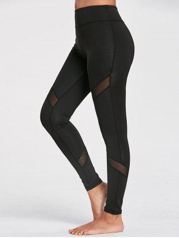 Discount Sports Mesh Panel Leggings